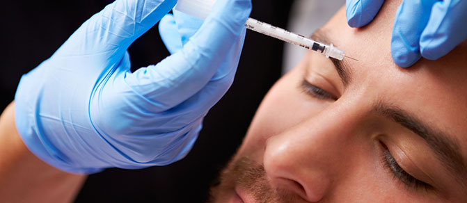 Treating men with Botulinum Toxin A (Botox)
